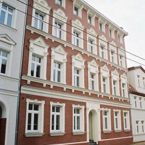 Szczecin – Kamienica przy ul. Dziennikarskiej 5.