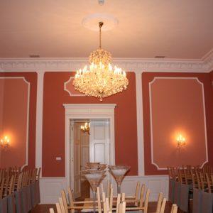 Pałac w Mierzęcinie. Sala balowa.