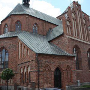 Świdwin – Kościół pw. Matki Boskiej Nieustającej Pomocy.