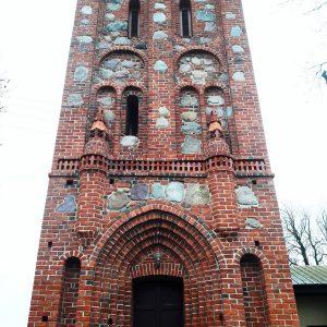 Kluczewo – Stargard. Kościół pw. Świętego Krzyża.