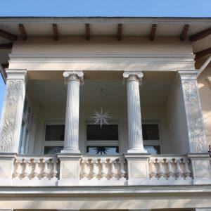 Niemcy. Heringsdorf – Villa Dorothea.