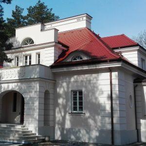 Rezydencja prywatna. Proj. architekt i stylista wnętrz nurtu neohistoryzmu Andrzej Grzybowski Warszawa.