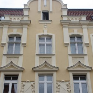 Szczecin – Kamienica przy ul. Sławomira 20.