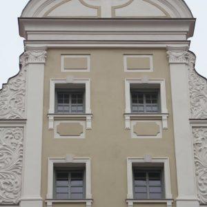Szczecin – Rynek Sienny. Kamienica Moninów.